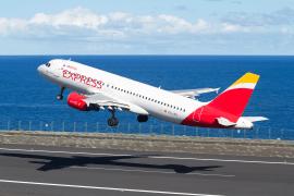 Iberia Express plane taking off
