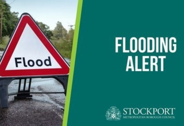 Flood warning issued for Stockport rivers