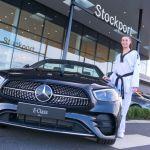 Bianca Walkden and her Mercedes-Benz E-Class Cabriolet