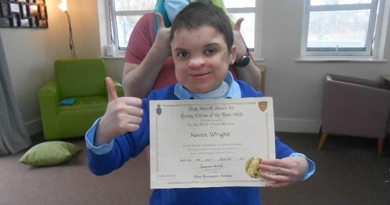 Seashell student wins High Sheriff Award