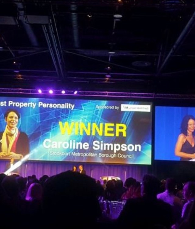 Stockport Council Deputy Chief Exec named 'Property Personality of the Year 2021'