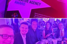 Dawn Creative celebrates Stockport Business Awards win