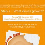 Hallidays discusses 'What drives growth' in next Business AM seminar