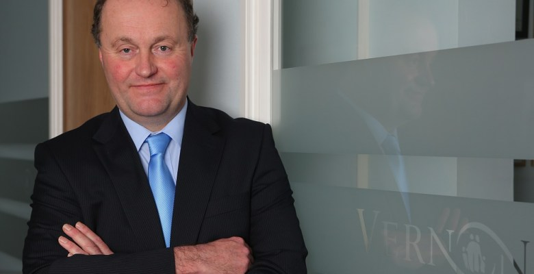 Mike Hanson, CEO of Vernon Building Society,