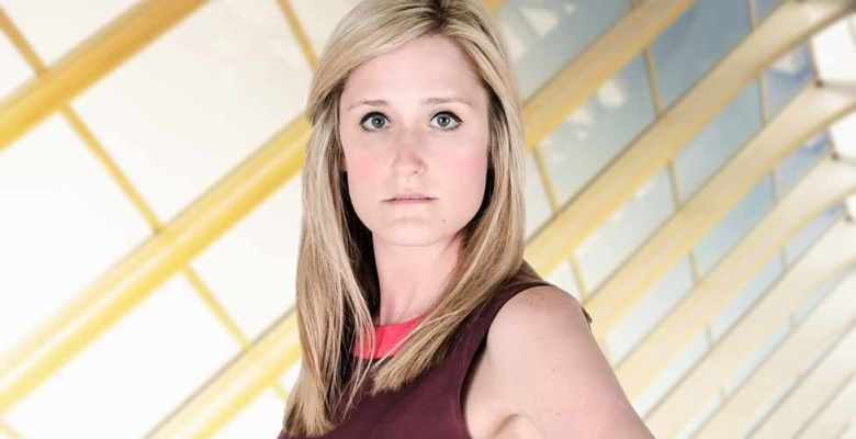 Rebecca Jeffrey is in the 12th series of The Apprentice (BBC)