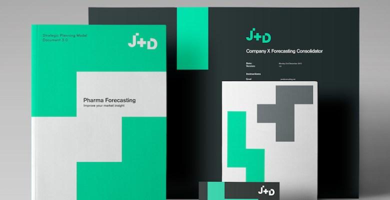 Dawn Creative rebranding J + D Consulting