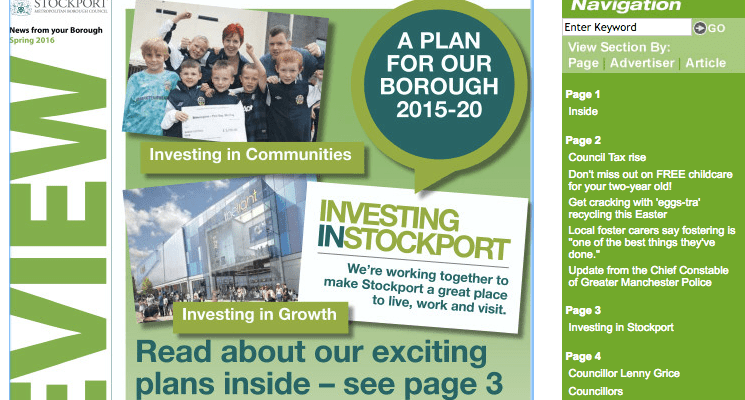 Sign up for the Stockport Review EXTRA