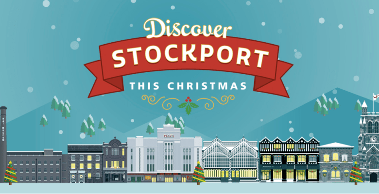 Discover Christmas in Stockport as Christmas lights up the town