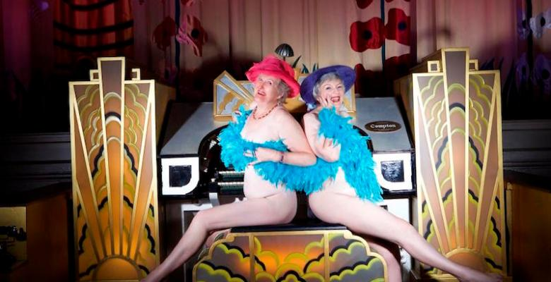 Stockport Plaza volunteers bare all for charity