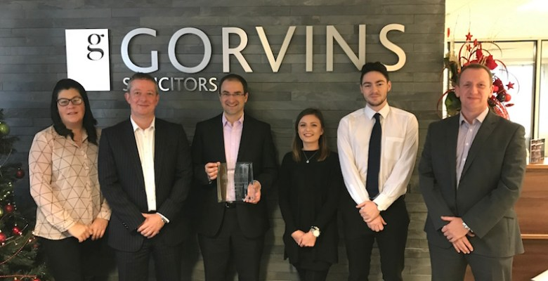 Gorvins Platinum winners at Young Stars awards