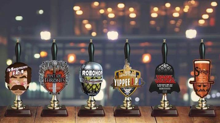 Robinsons seasonal ales - movie inspired beers