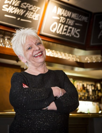 Queens Stockport Licensee Sue Igbon