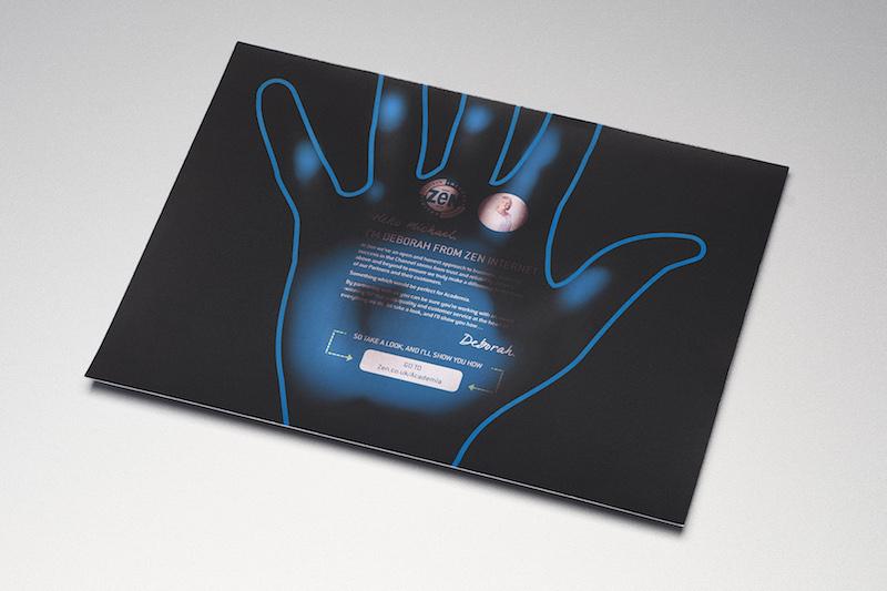 ZEN DM Hand insert Creativepool Annual 2017