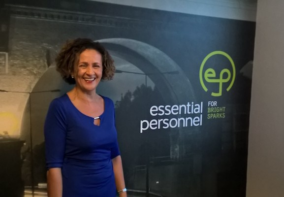 Stockport recruiter Cathy Bates, MD of Essential Personnel