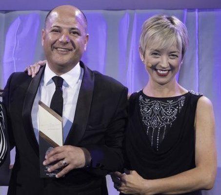 Marc Goldberg at Bristish Specialist Lending awards