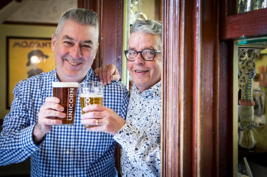 Arden Arms Joe Quinn and Steve King