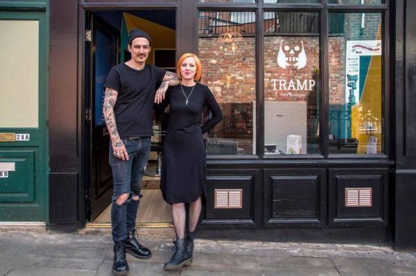 Tramp hair salon is the latest addition to #stockportsoho