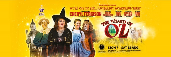 Go over the rainbow at Stockport Plaza with The Wizard of Oz