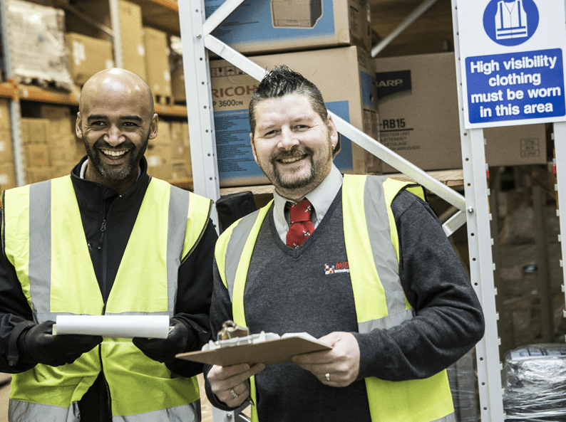 Midshire workers who have won an award from RoSPA