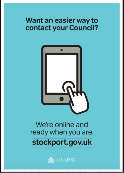 Get online with Stockport Council