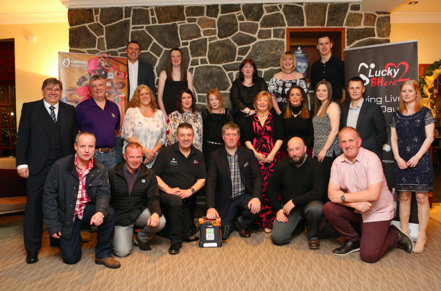 100th DEFIB ON WESTERN ISLES MAKE IT ONE OF THE BEST PROTECTED COMMUNITIES IN THE UK