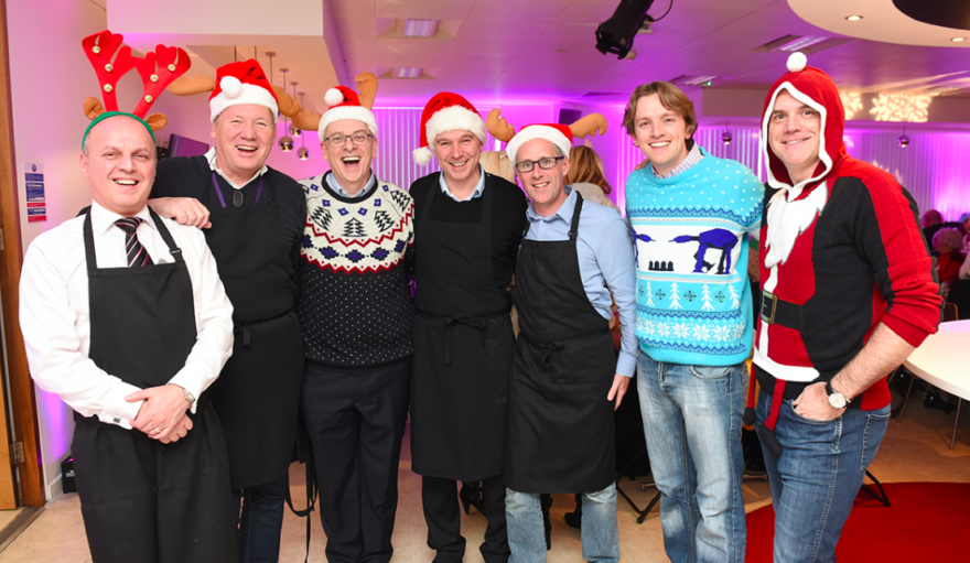 Together team hosting this year's pensioners lunch