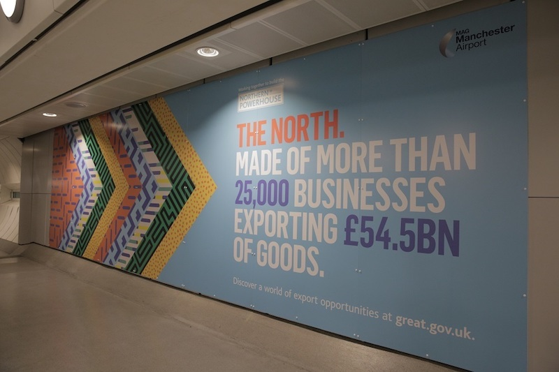 The North northern powerhouse campaign