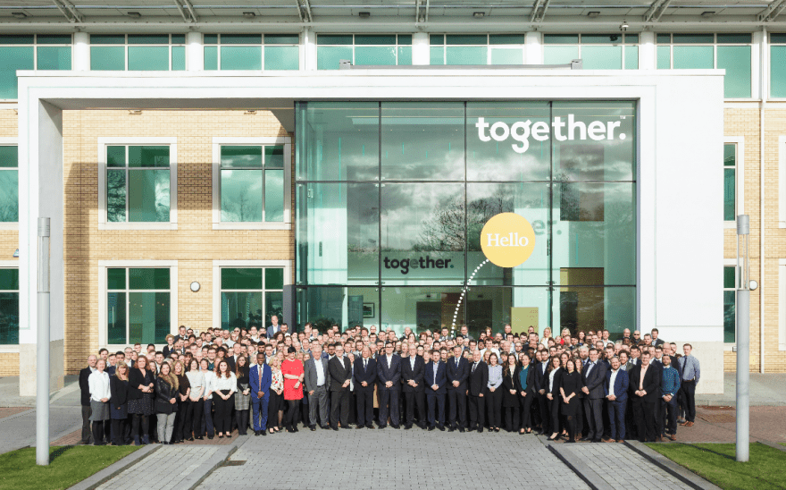Together named in UK's top 100 companies