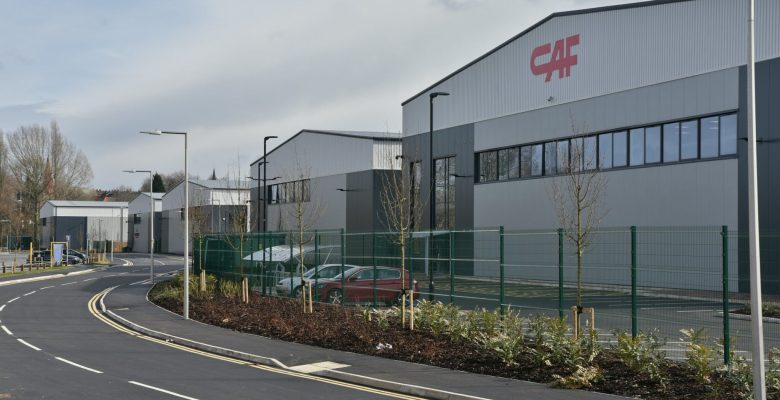 CAF opens a new faciity at Aurora Stockport - ideally located alongside the M60 and already over 80% let or under offer