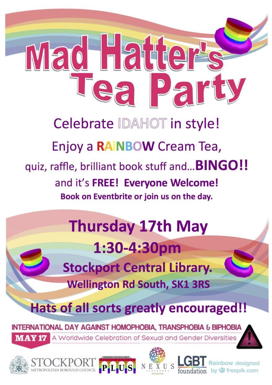 Mad Hatter's Tea Party celebrates IDAHOT