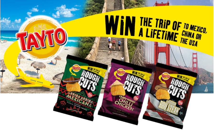 Manchester Airport launches marketing campaign with Tayto crisps