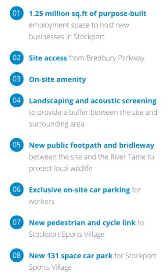 Bredbury Gateway masterplan
