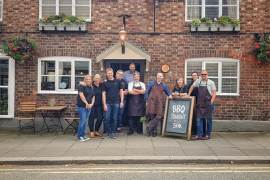 The Rising Sun in Tarporley hosted Help for Heroes BBQ