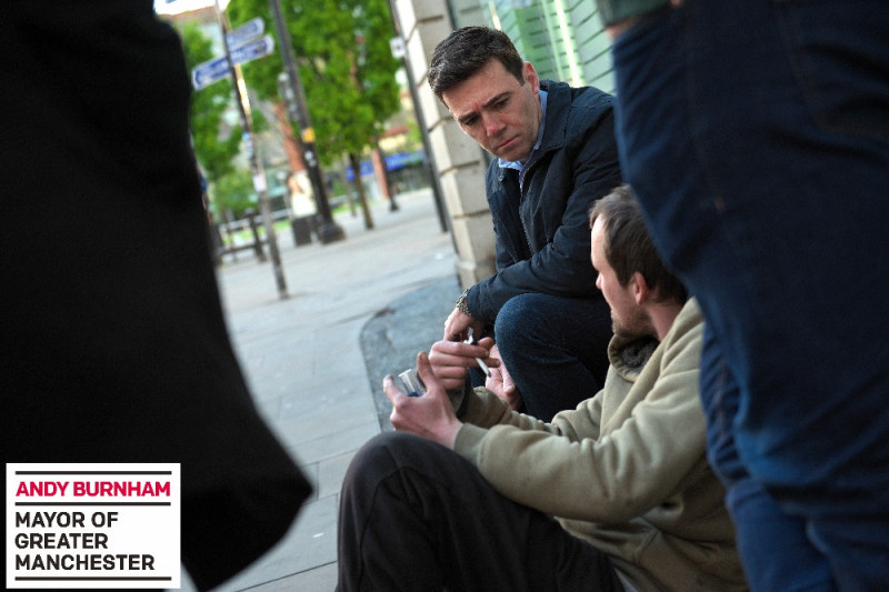 Stockport College students support Mayors homeless fund