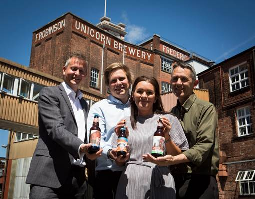Robinsons 1 million pints for Co-op beers