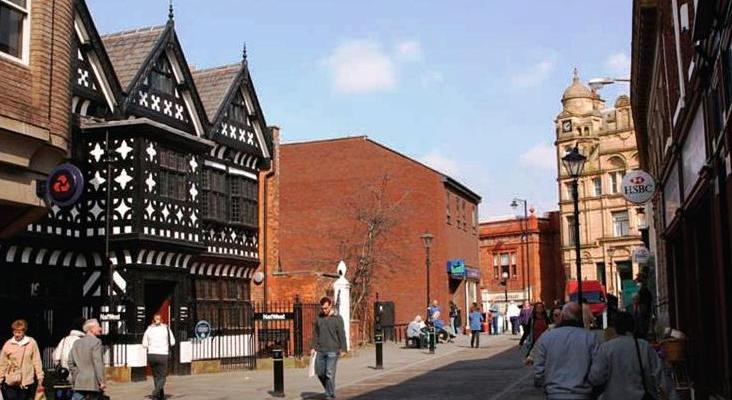 The health of High Streets - Underbank Hall in Stockport