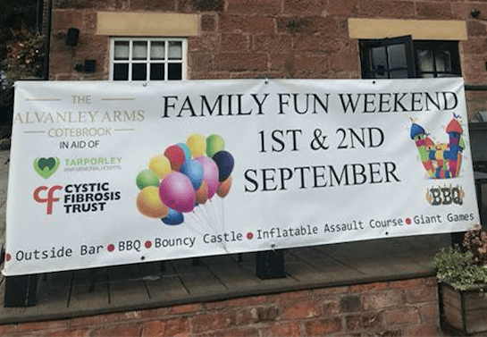 Alvanley Arms host family fun weekend