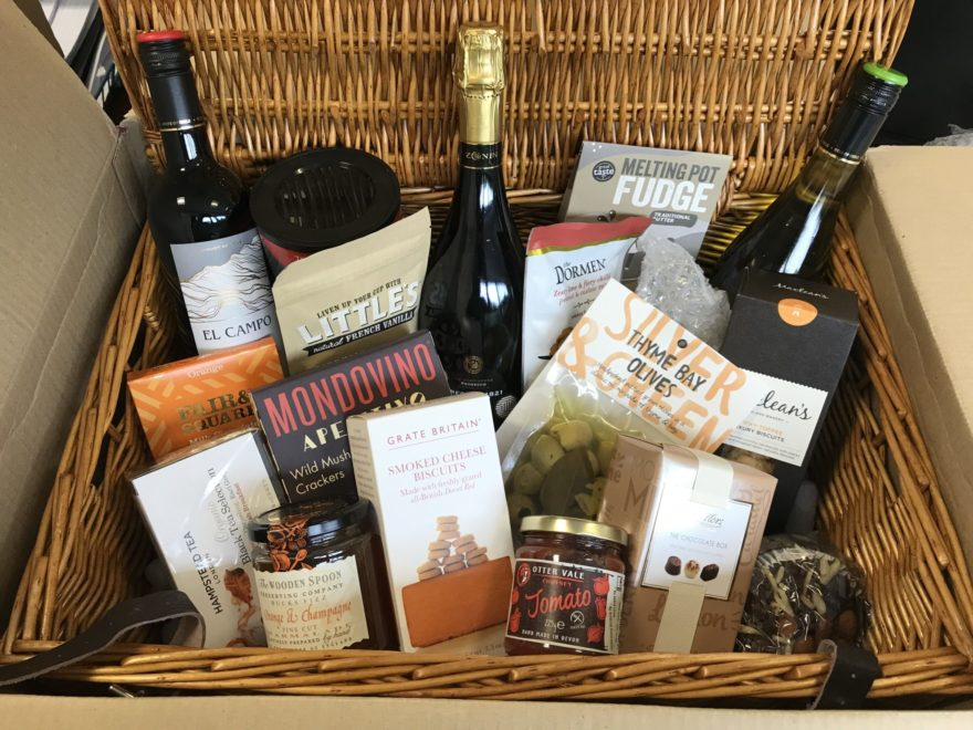 Raffle Hamper donated by Dawn Creative