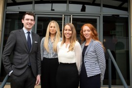 Trainee solicitors graduate to permanent roles at Stockport law firm