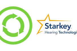Starkey Hearing Technologies ditch plastic