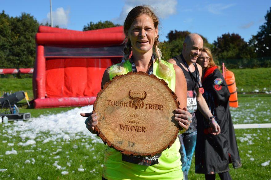 Tough Tribe female winner Clare Jones