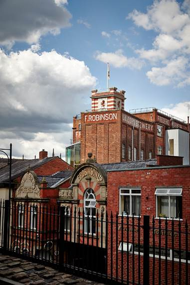 180 years old, Stockport based Robinsons Brewery