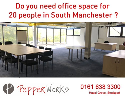 Pepper Works Office Space in Hazel Grove Stockport