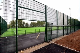 Stockport disability charity 3G sports pitch is shot at goal