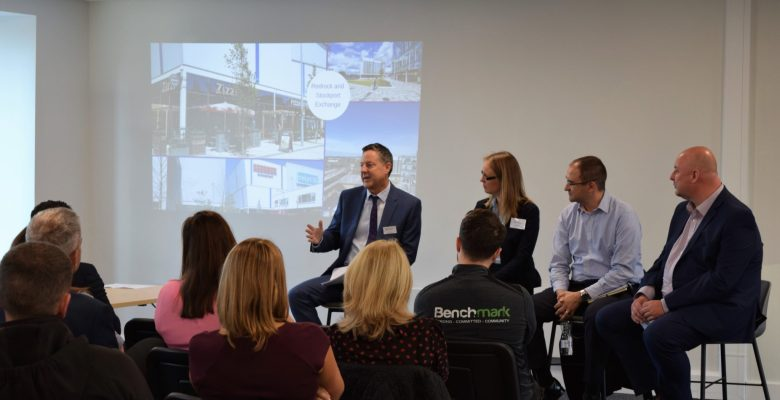 Stockport Business Leaders gatered to discuss Confidence in the town centre