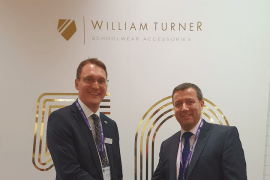 Dan Turner, managing director of William Turner (left) with Mike Humble