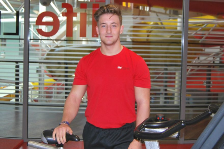 Harry Charnock - fitness instructor Life Leisure