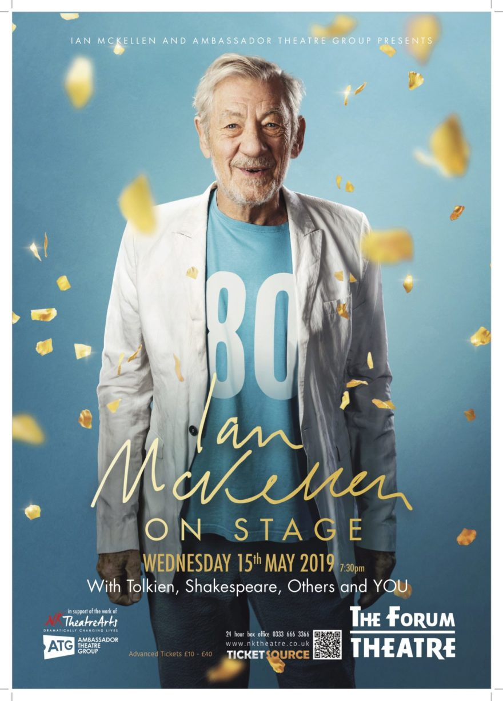 IanMcKellen Theatre Poster