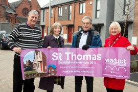 St Thomas development officially opened