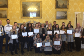 Damar Ofsted Apprentices celebrate success
